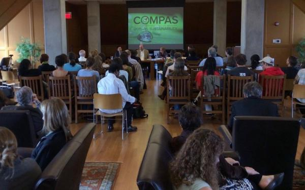 Audience at COMPAS conference