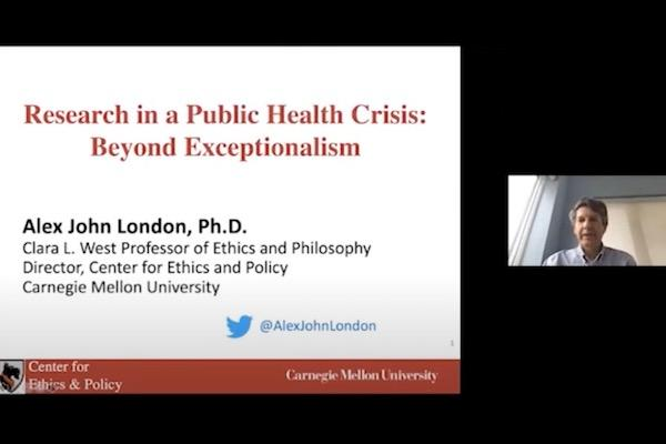 Alex John London presentation title slide