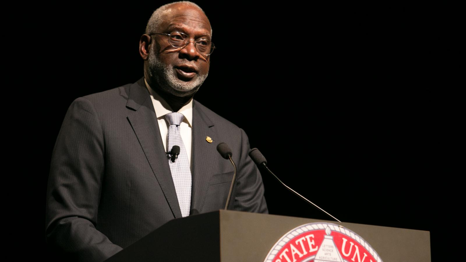 Former Surgeon General Dr. David Satcher speaking on Health Equity
