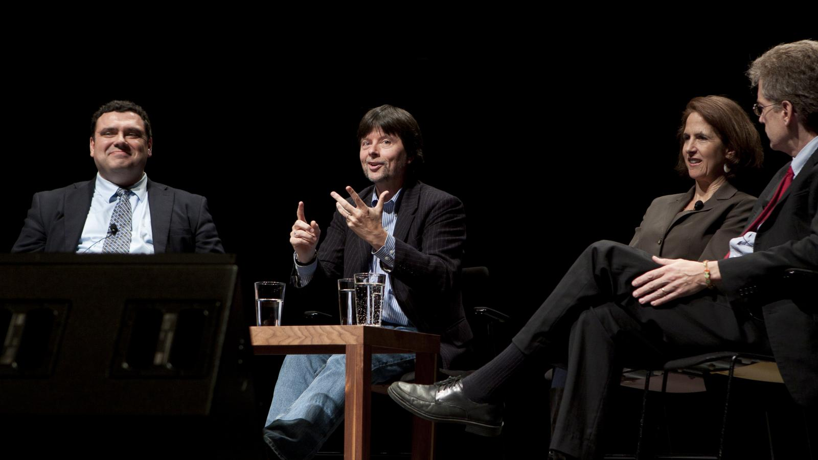 "Photo of ""Prohibition: an Evening with Ken Burns"" event"